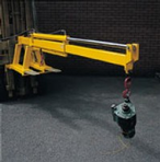 Forklift Telescopic Jib Attachment