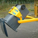 Forklift Wheelie Bin Attachment